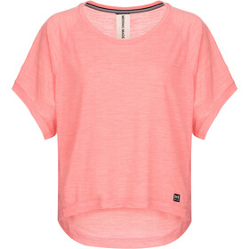 super.natural Motion Peyto Camiseta Mujer, georgia peach melange